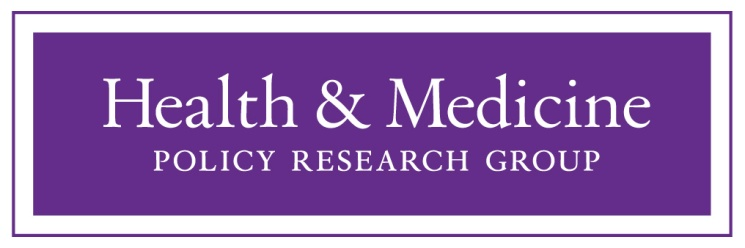 Health & Medicine Policy Research Group Logo
