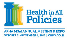 IPHA President provides Welcoming Remarks During APHA's Annual Meeting