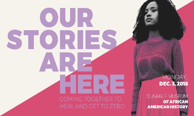 Conference - Our Stories are Here: Coming Together to Heal and Get to Zero