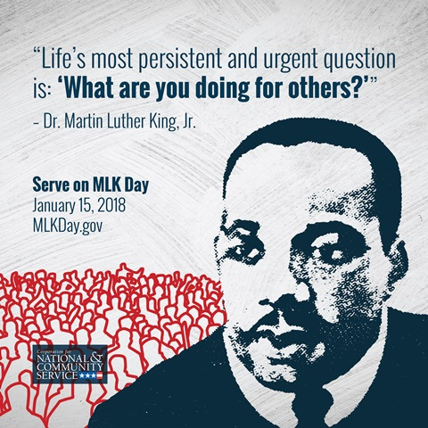IPHA AmeriCorps Members to Serve on MLK Day