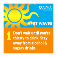 APHA's Get Ready Campaign - Staying safe this summer