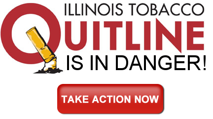 IPHA Call to Action - Illinois Tobacco Quitline is in danger of shutting down!
